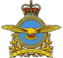 Royal Canadian Air Force Badge Photographic Print