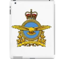 Royal Canadian Air Force Badge iPad Case/Skin