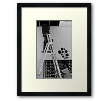 Urban Daydreaming Framed Print