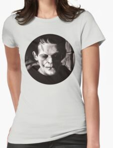 THE MONSTER of FRANKENSTEIN Womens Fitted T-Shirt