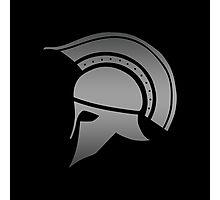 Ancient Greek Spartan Helmet Photographic Print