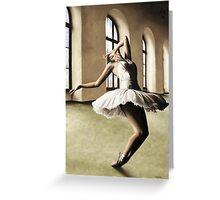 Halcyon Ballerina Greeting Card