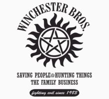 SUPERNATURAL - WINCHESTER BROTHERS by thischarmingfan