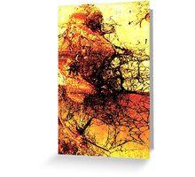the arid land Greeting Card