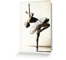 Reaching for perfect Grace Greeting Card