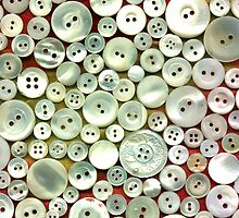 Mother of Pearl Buttons by MaryJaneBayliss
