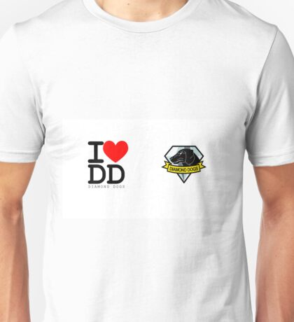 I ♥ Diamond Dogs (Metal Gear Solid)  Unisex T-Shirt