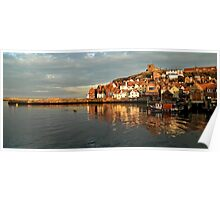 Whitby Reflections Poster