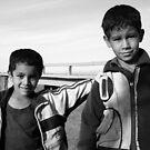 Moroccan Children by Victoria Kidgell