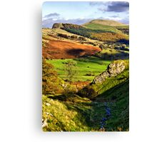 Lose Hill And Great Ridge Canvas Print