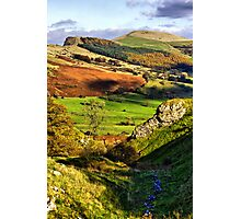 Lose Hill And Great Ridge Photographic Print