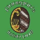 Finnegan's Irish Pub Nuremberg Oval Wappen by FinnegansNbg