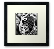 Pursed Framed Print