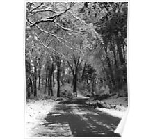 A Long Cold Drive Poster