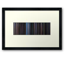 Moviebarcode: Star Wars: Original Trilogy (1977-1983) Framed Print