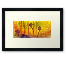 The Land of Purple Lollipops Framed Print