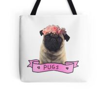 we love pugs Tote Bag