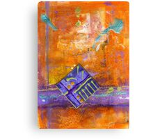 The Land of Ethereal ORANGE Canvas Print