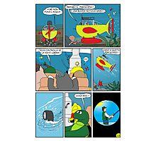 """Rick the chick  """"THE MAGIC SHELL (Quota periscopio) parte 33"""" Photographic Print"""