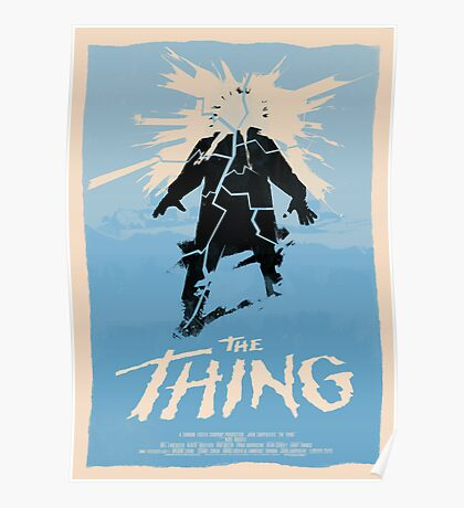 The Thing (1982) Custom Poster Poster