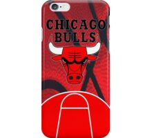 Chicago Bulls Logo Basketball NBA iPhone Case/Skin