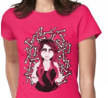 BONE ☠ COLLECTOR Womens Fitted T-Shirt