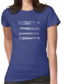 Sonic BluePrint Womens Fitted T-Shirt