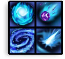 Veigar's Ability Icons Canvas Print