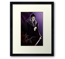 The King of Gotham Framed Print