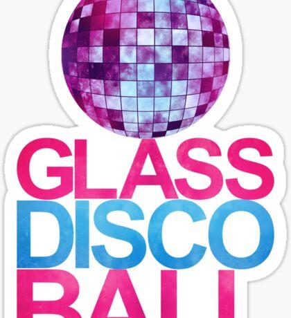 Glass Disco Ball Sticker