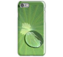 Water Pearl on Lotus Leaf - iPhone Case iPhone Case/Skin