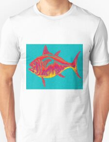 Abstract Fish Unisex T-Shirt