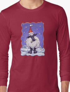 Sheep Christmas Long Sleeve T-Shirt