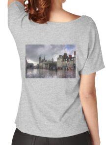 Aberdeen in the rain Women's Relaxed Fit T-Shirt