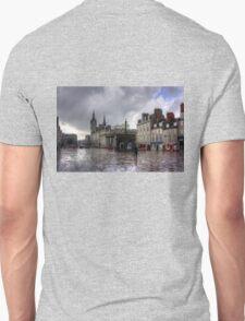 Aberdeen in the rain Unisex T-Shirt