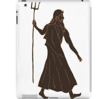 Poseidon - Greek God  iPad Case/Skin