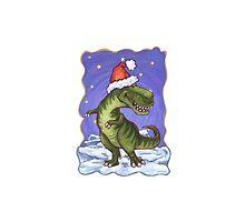 Tyrannosaurus Christmas by ImagineThatNYC