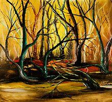 FOREST FIRE by Loredana Martorana