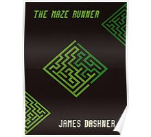 The Maze Runner Book Cover Poster