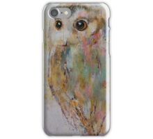 Owl Painting iPhone Case/Skin