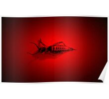 Red Light Locust Poster