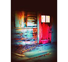 crayola coloured interior Photographic Print