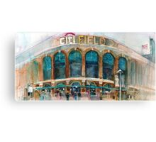 CitiField - Mets Watercolor Print Canvas Print