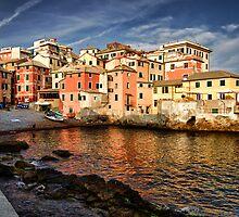 Boccadasse, Genoa by acalax