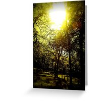 deathly hollows Greeting Card