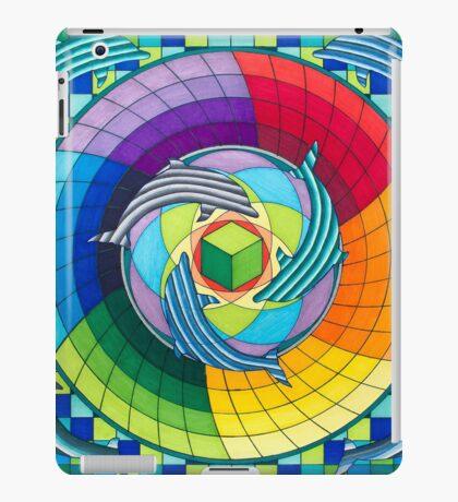Sirius dolpin color scheme 2 iPad Case/Skin