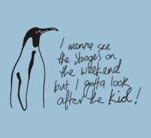 Penguin Rocker One Piece - Short Sleeve