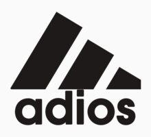 Adios Logo by IMadeUReadThi