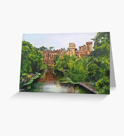 Warwick Castle, Warwickshire, England. Greeting Card