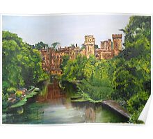Warwick Castle, Warwickshire, England. Poster
